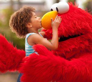 Elmo - kiss