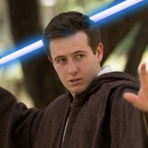 Jedi Master star wars party entertainer for kids in San Francisco Bay area Los angles and Orange County