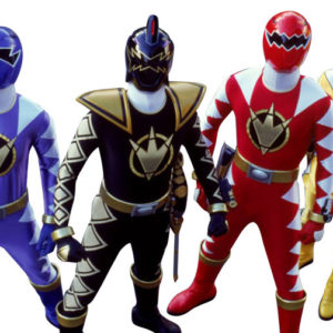 Power Ranger Characters for rent