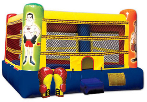 Boxing Ring Jumper Bounce House Party Rental For Los Angeles Ventura And Orange County