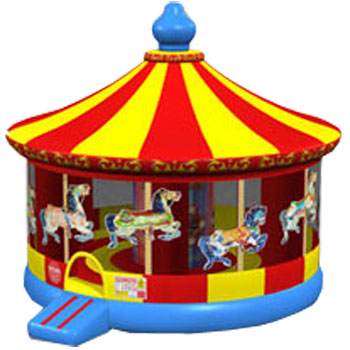 20 foot carnival carousel jumper bounce house party rental for los
