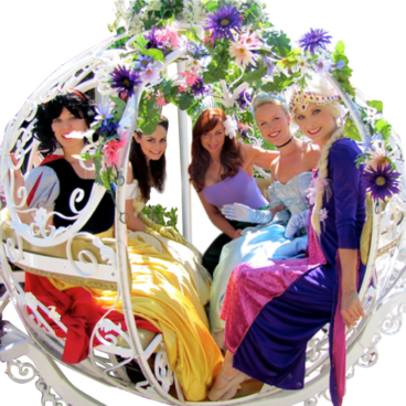 Princess Party entertainers in San Francisco Bay Area Los Angeles Orange County