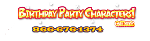 BIrthday party characters for kids parties