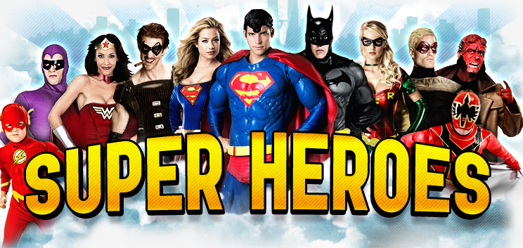 Super heros character rental Bay Area San Francisco Los Angeles Orange County