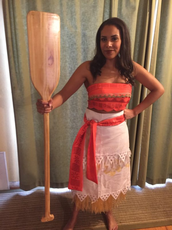 Moana Character rental for kids birthday party