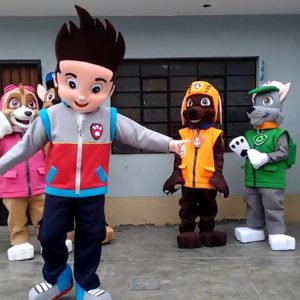 Paw Patrol kids party character rentals in San Francisco Los angeles orange county