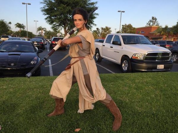 Female Jedi star wars character rental in San francisco Bay area, Los angles, Orange county