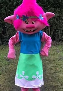 poppy from troll kids party character rental california